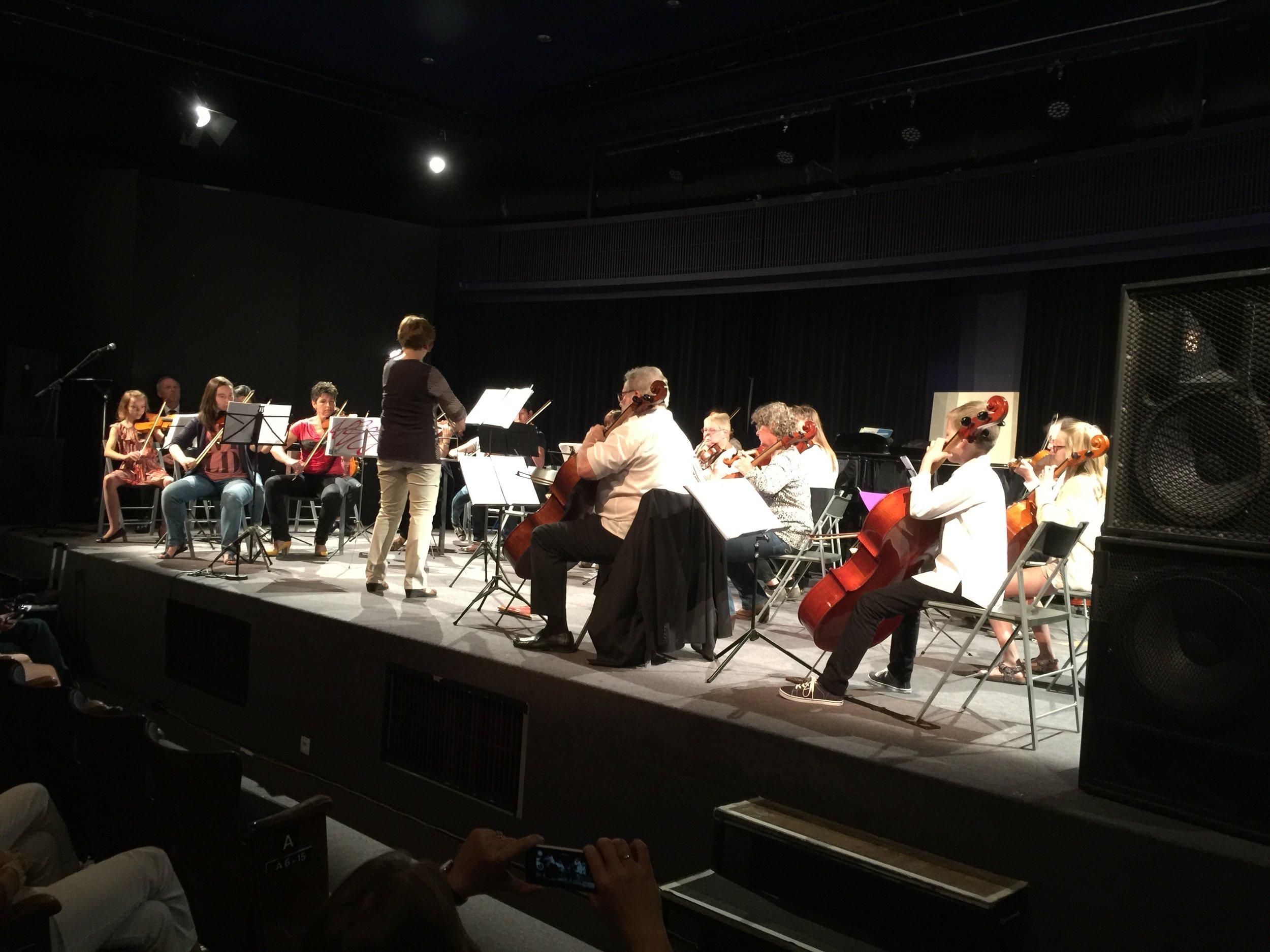 Orkestklas Anna Preszlawska - Dag van de Muziekschool 26 juni 2016 Auditorium Stedelijk Conservatorium Mechelen