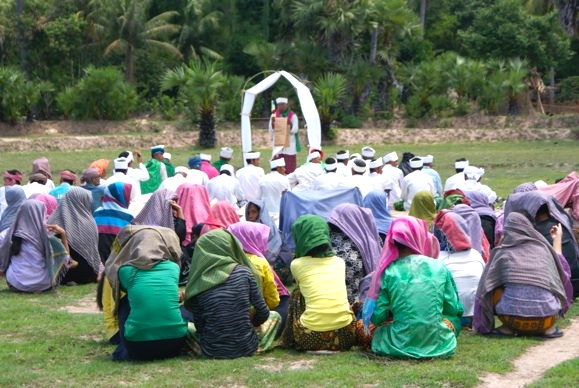 During a devastating drought, the rain prayer ceremony has special significance this year, in O Russei, Kampong Chhnang