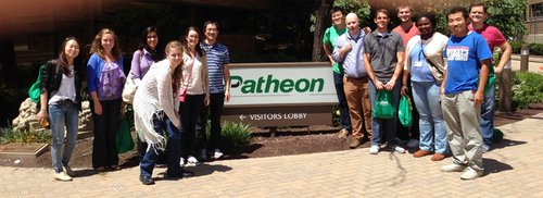 On July 23, the UK AAPS Student Chapter was hosted by Patheon in Cincinnati, OH for a site visit of Patheon's Pharmaceutical Development and Production facilities. This was a great opportunity to learn about the manufacturing side of the pharmaceutical industry.