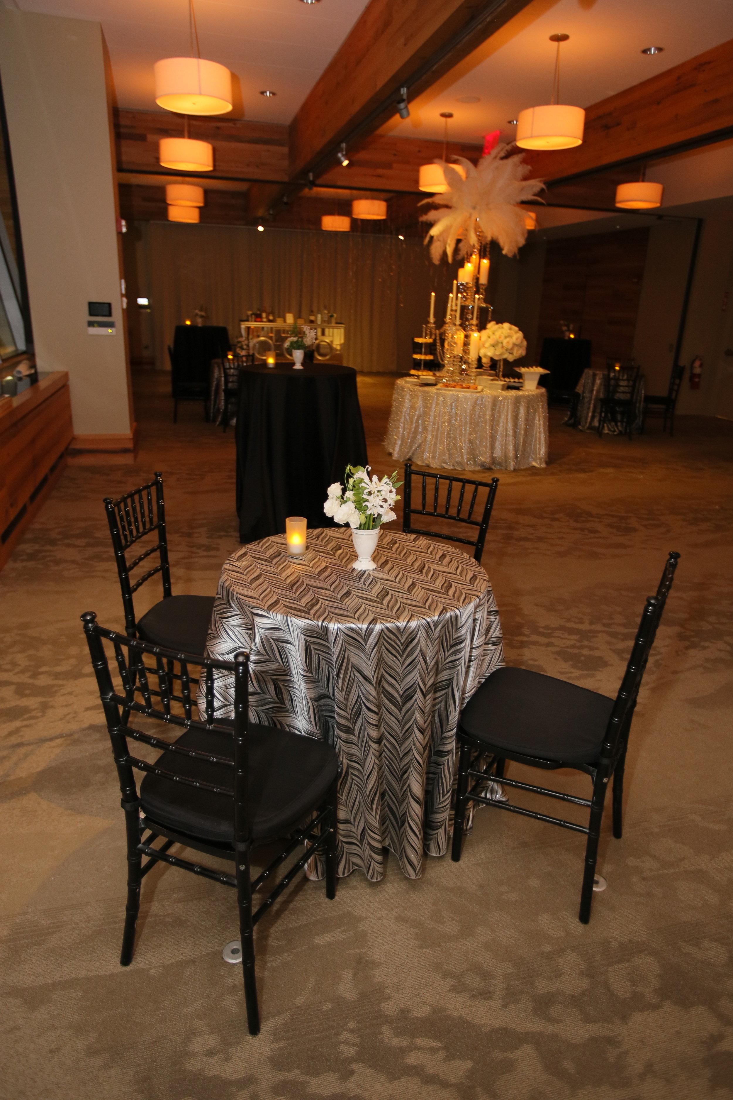 Sara Kovel Events Great Gatsby Engagement Party Catalyst Restaurant