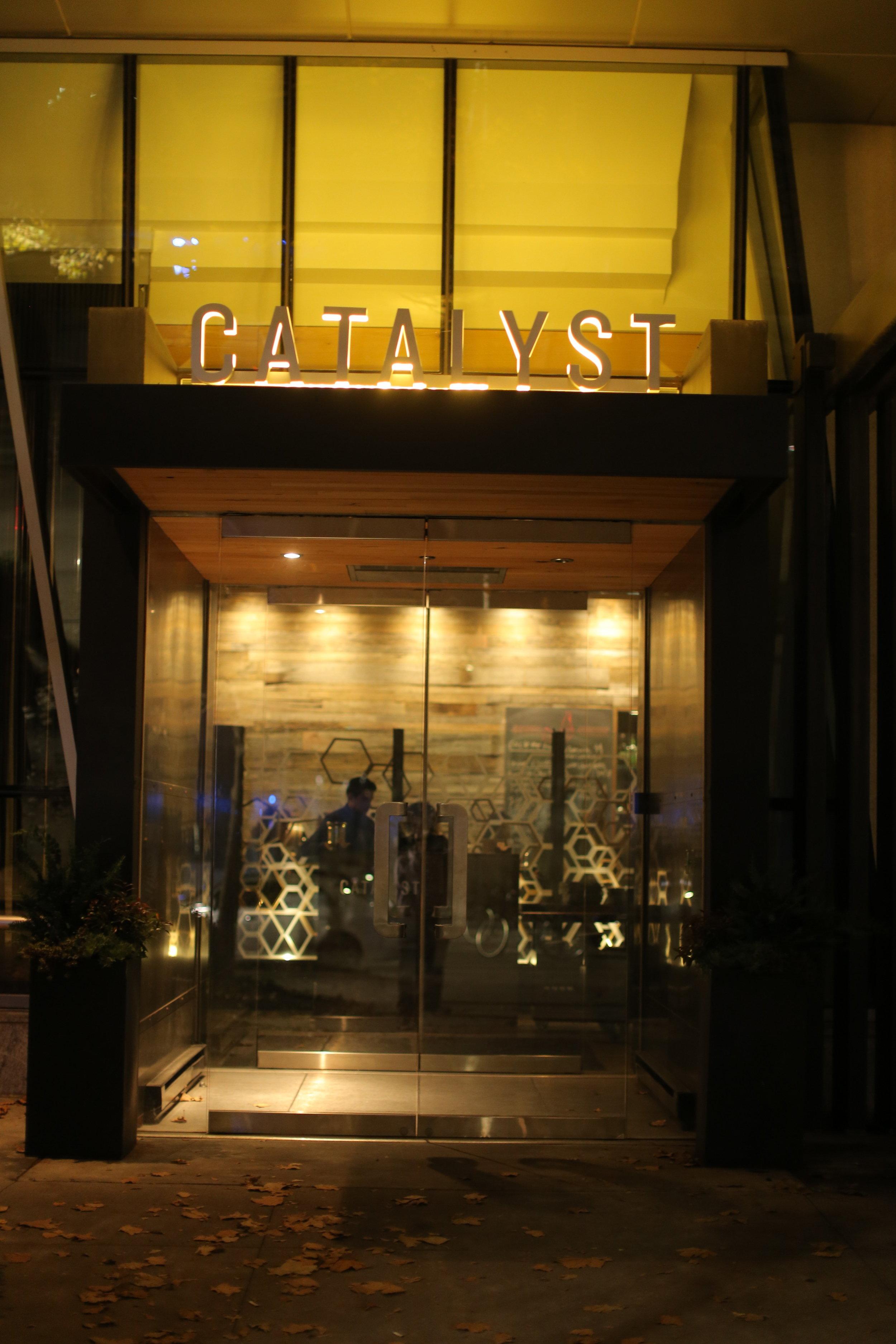 Catalyst Restaurant Sara Kovel Events