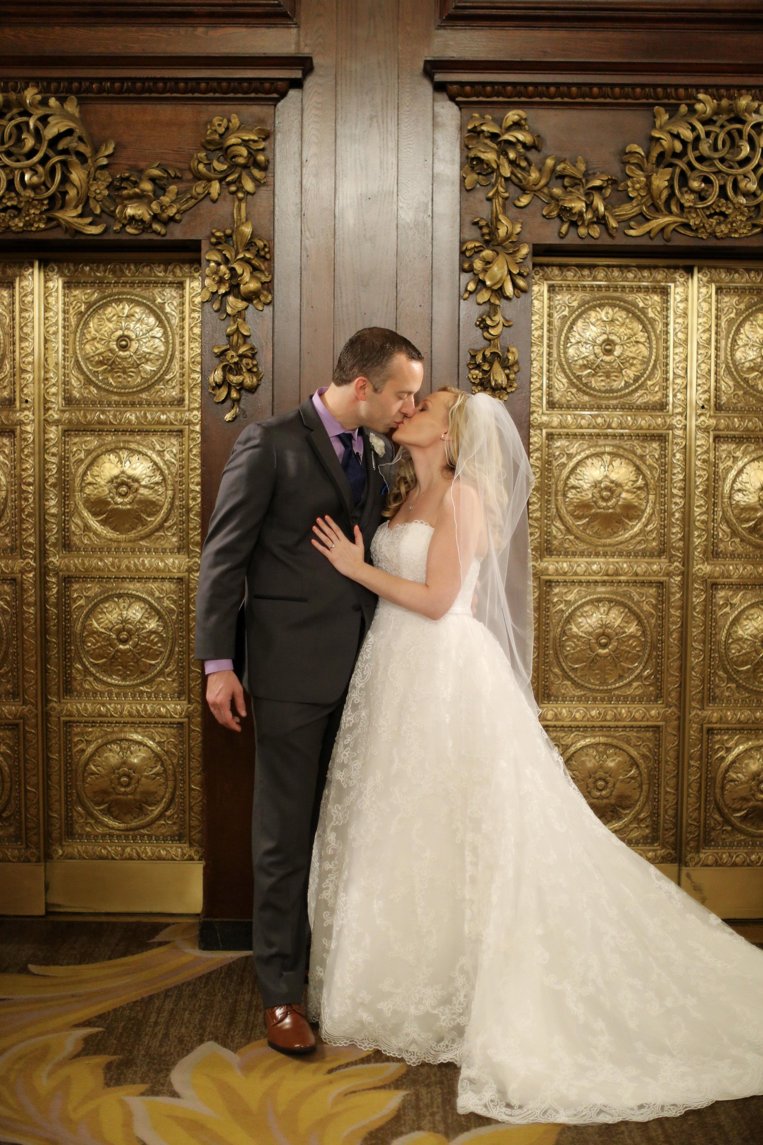 Sara Kovel Events Omni Parker House Wedding First Look
