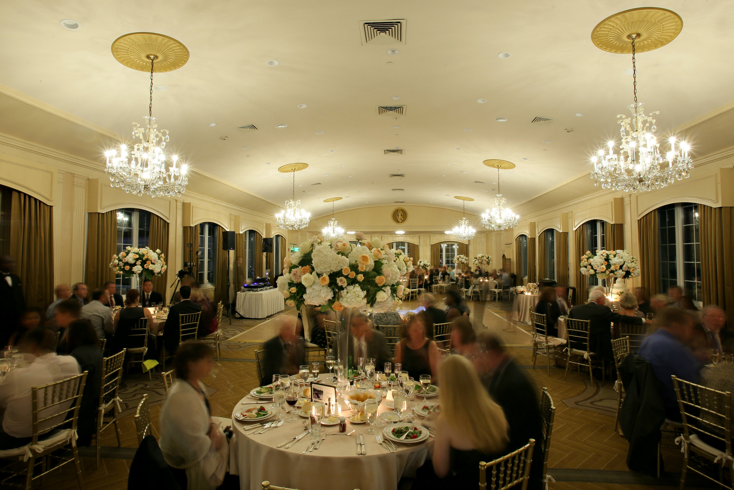 Sara Kovel Events Wedding Omni Parker House Rooftop Ballroom