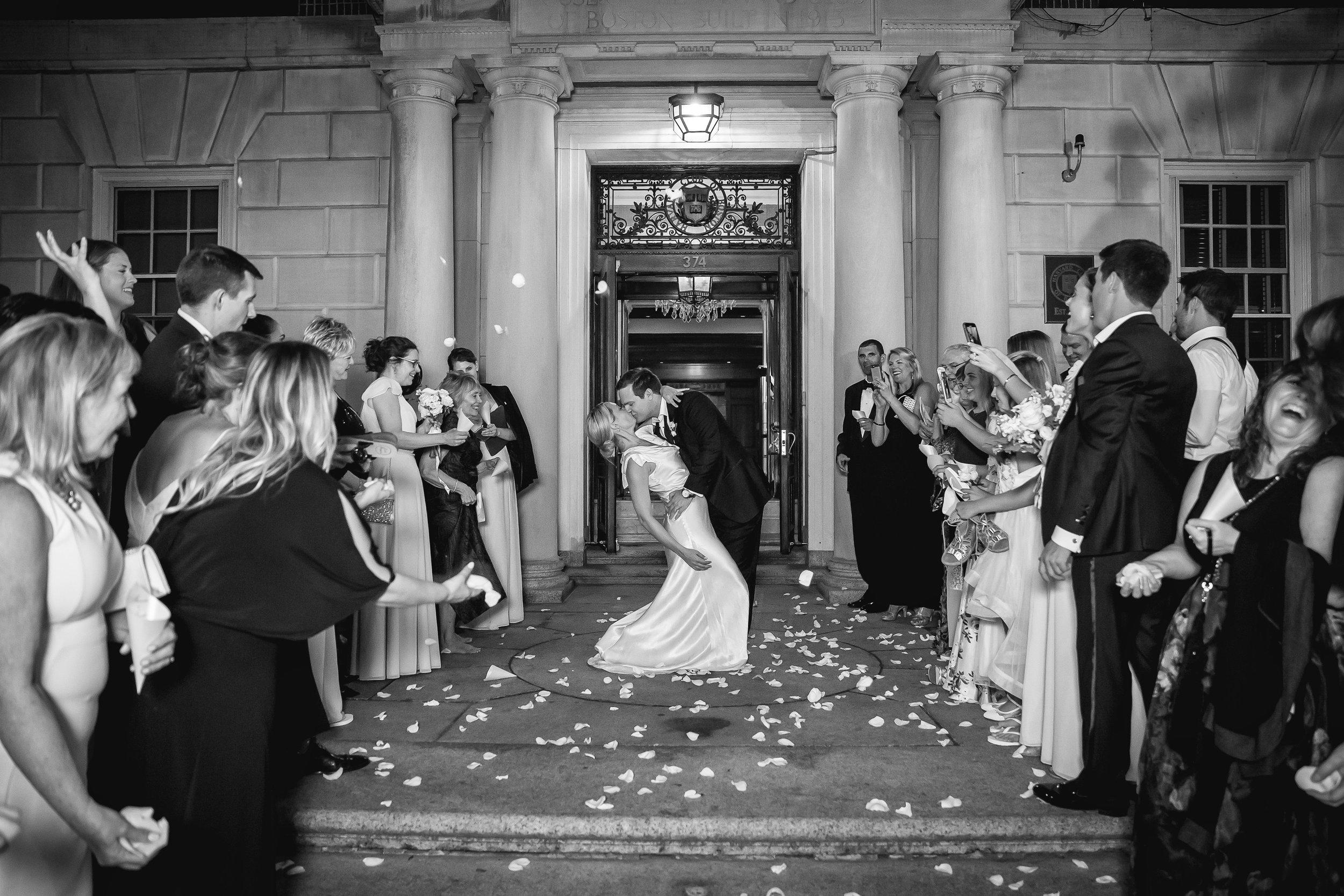 Harvard Club Boston Wedding