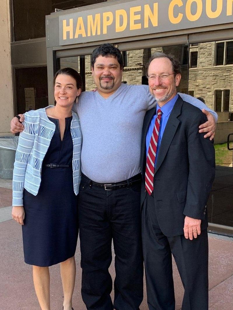 Prof. Charlotte Whitmore, Omar Ortiz, Attorney Chauncey Wood