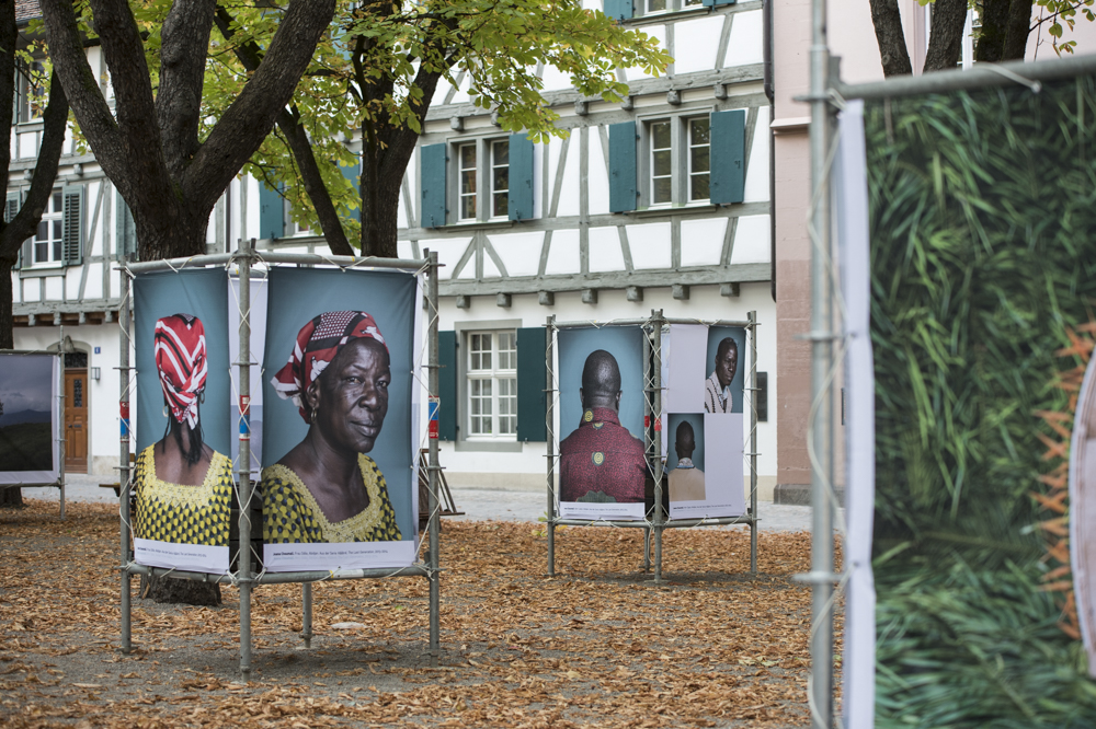 View of POPCAP 2014 exhibition at  IAF Basel Festival for Contemporary Art in September 2013, Basel, Switzerland