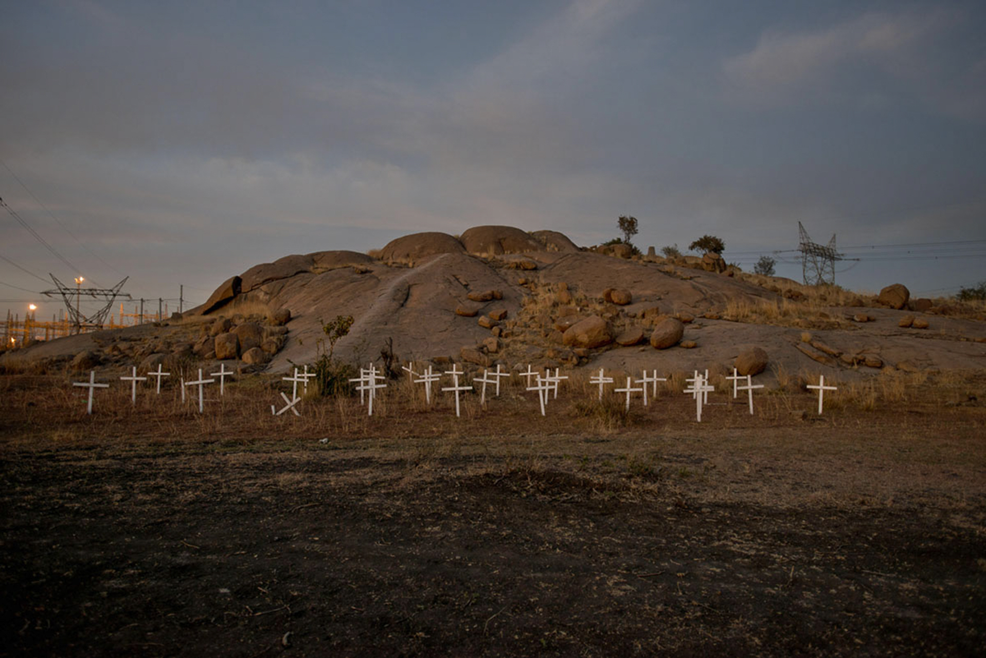 Paul Botes. Marikana - The Aftermath, 2013 – on-going