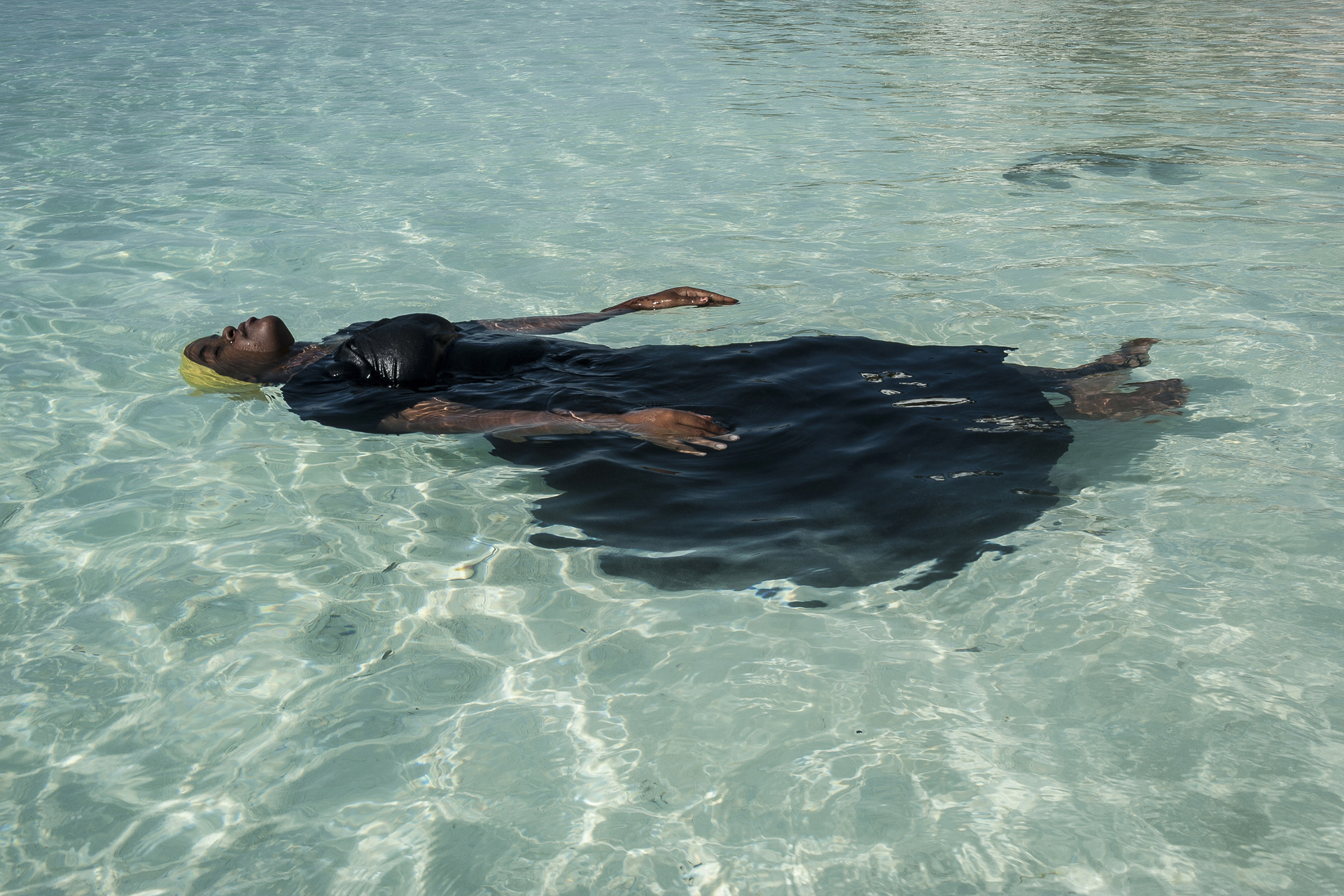 Anna Boyiazis. From  Finding Freedom in the Water,  2016
