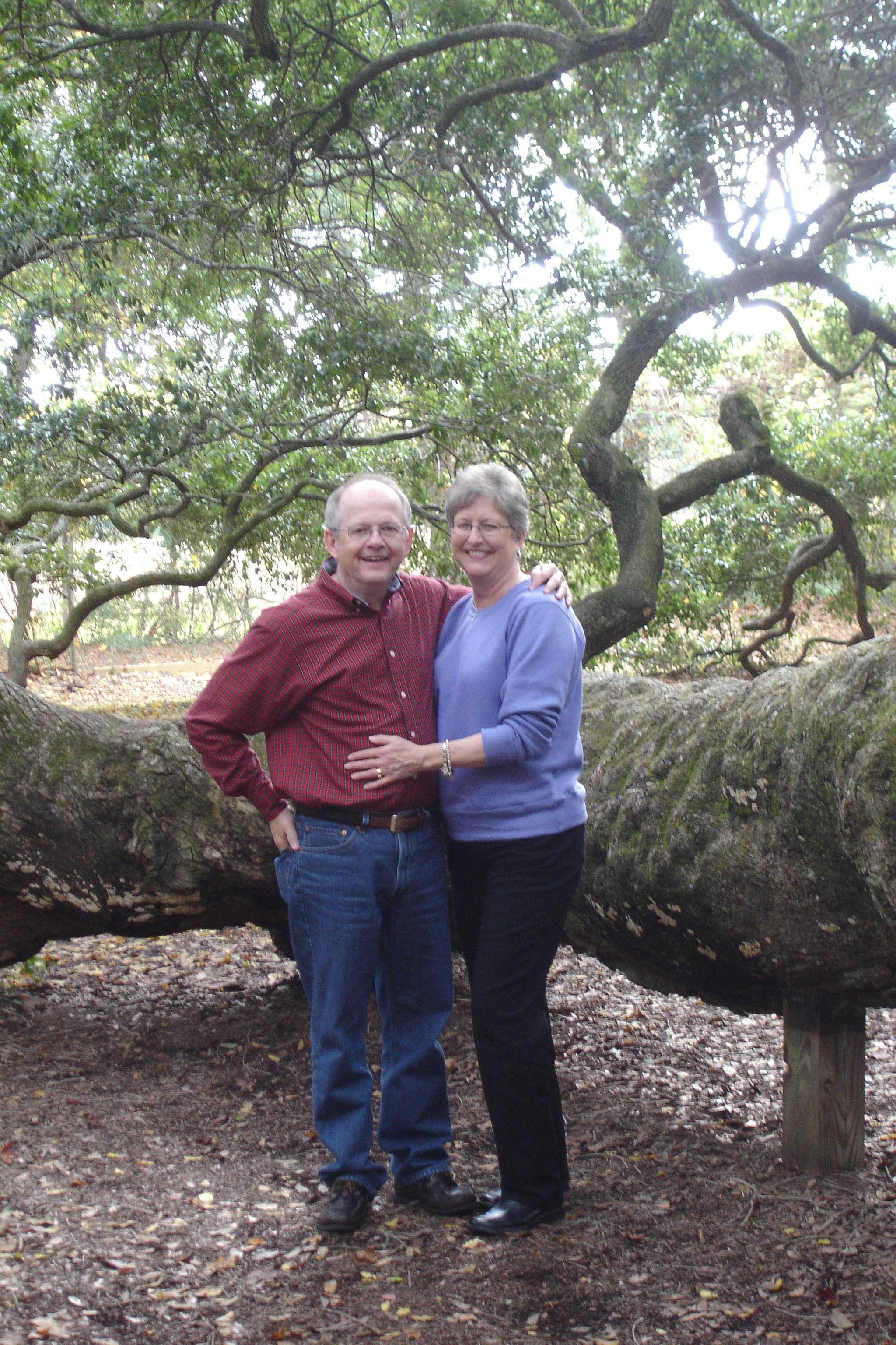 Mark & Honey - oak tree.JPG