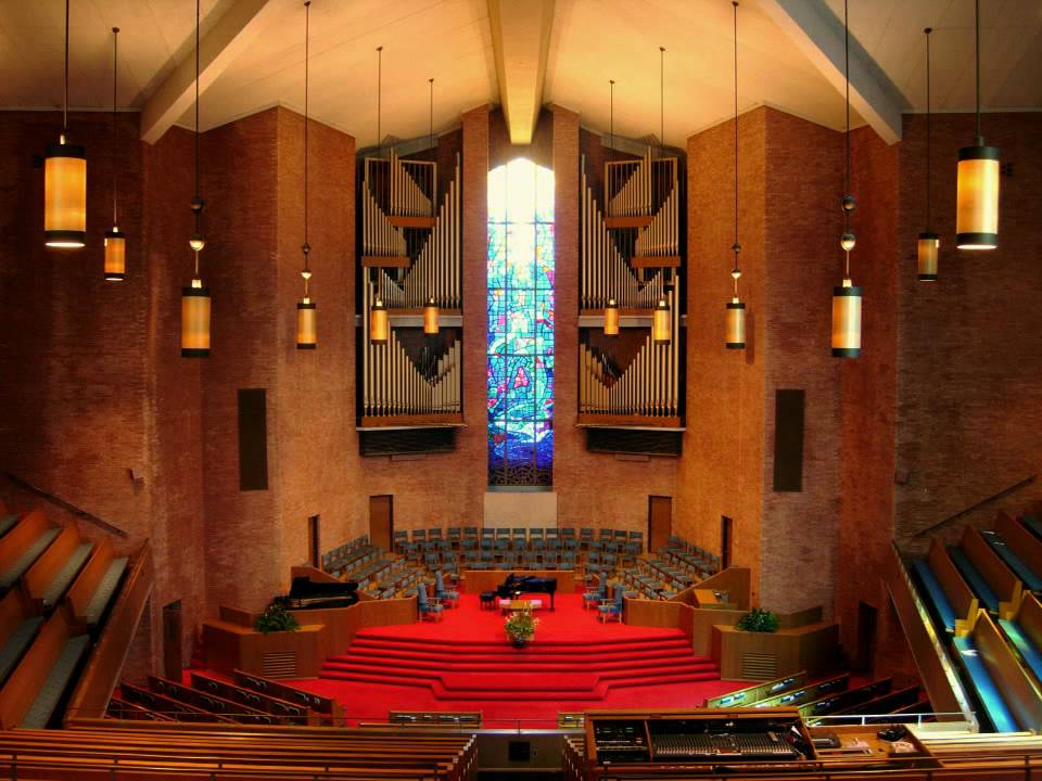 Sanctuary at First Baptist Church, Nashville, Tennessee
