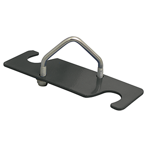 Cup Bowl Fence Clamps and Back Plates -