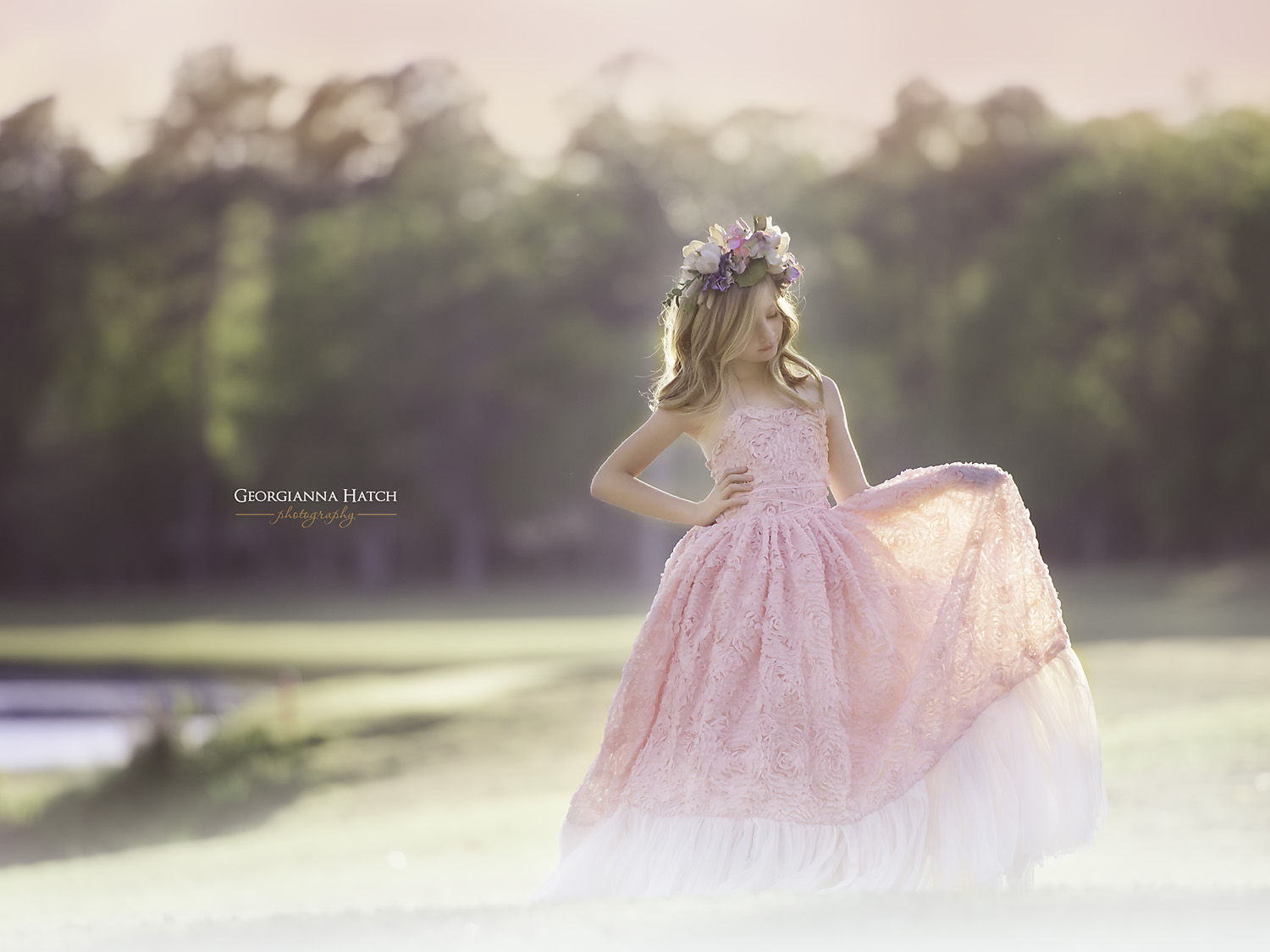 Beautiful Tallahassee! - We can design unique and beautiful sessions with complete styling including couture gowns for girls. Contact us for details!