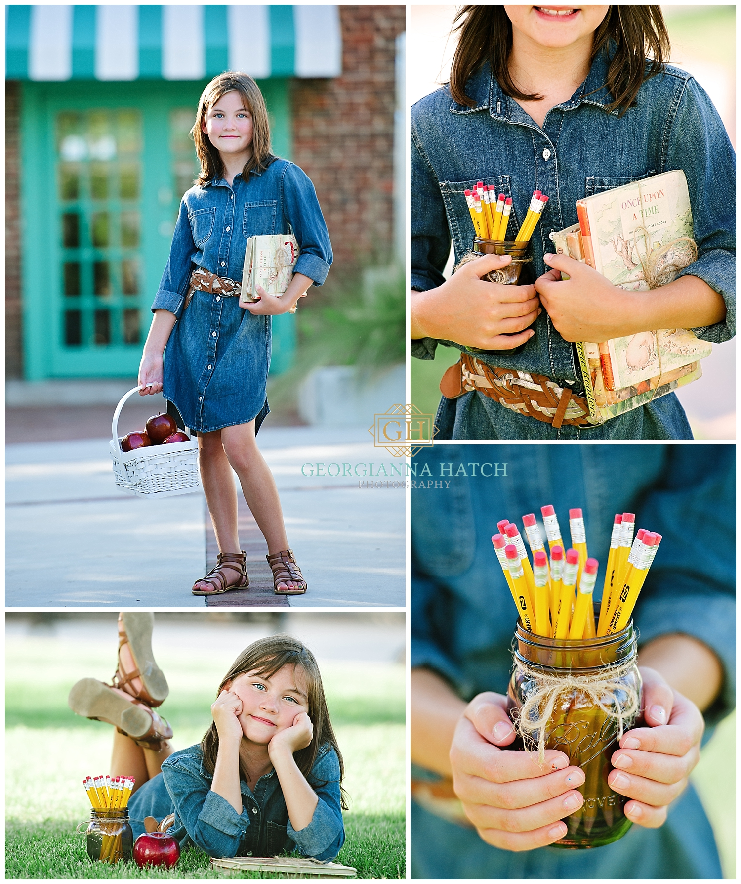 It's time for Back to School Photos! - Contact us to create a unique and fun session for the new school year!