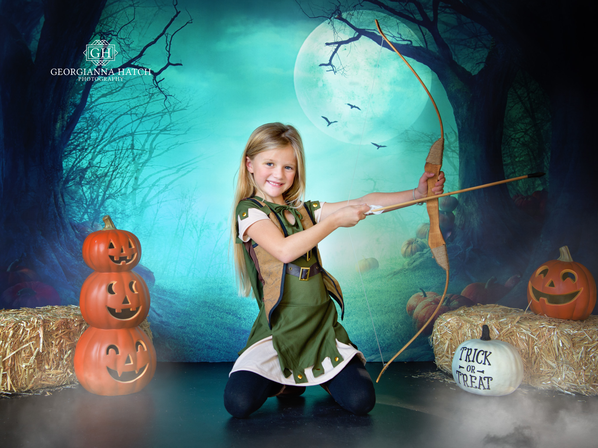 Halloween Portraits - October 31st. - This will be our 6th year offering these special portraits! This year we will have two studio sets available including the one pictured here! Sign up for our newsletter for all the details!