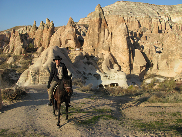 Horseback through Cappadocia in Turkey