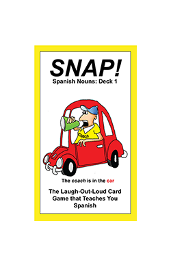 SNAP!  Spanish Nouns: Deck 1  $12, 48 cards