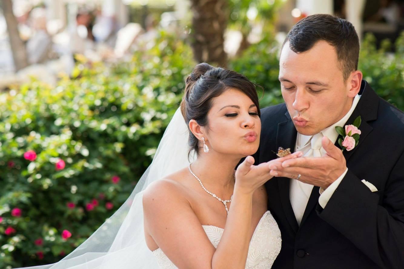 Tony and I, at our wedding May 2015