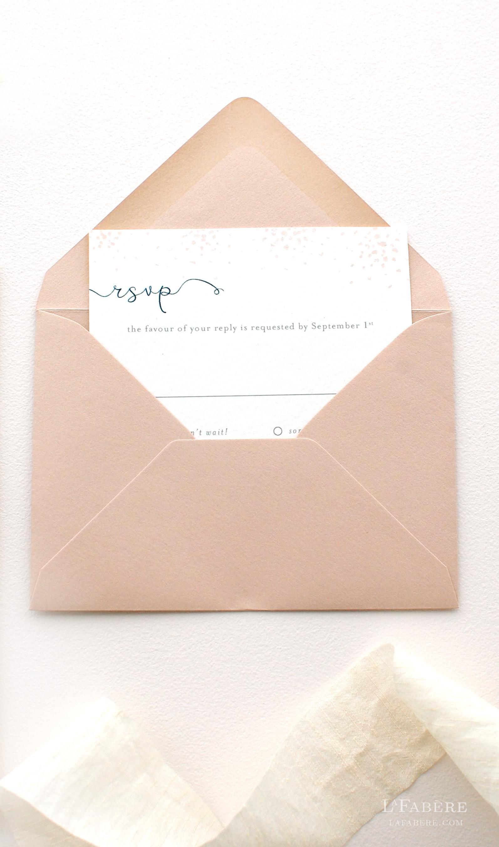 LaFabère wedding invitation design. lafabere.com