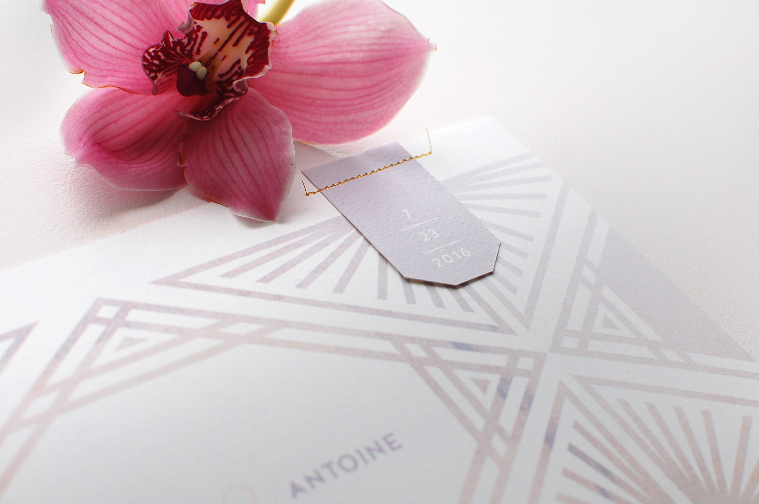 Luxury Fine Art Wedding Invitations at LaFabere.com