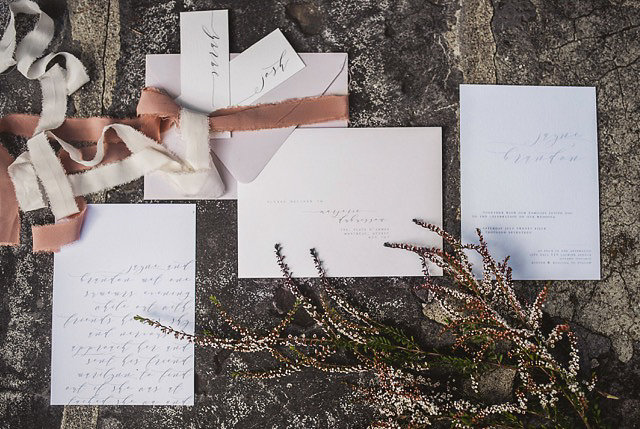 Once Wed invitations LaFabere