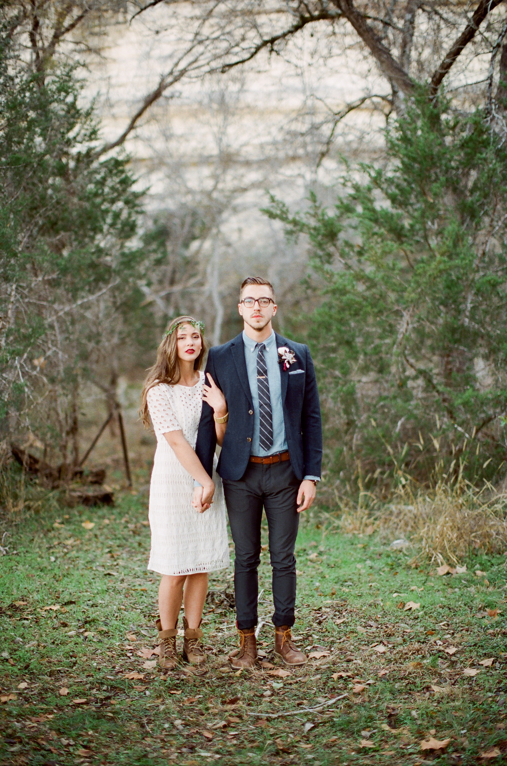 Hunter + Lainey - GREEN WEDDING SHOES