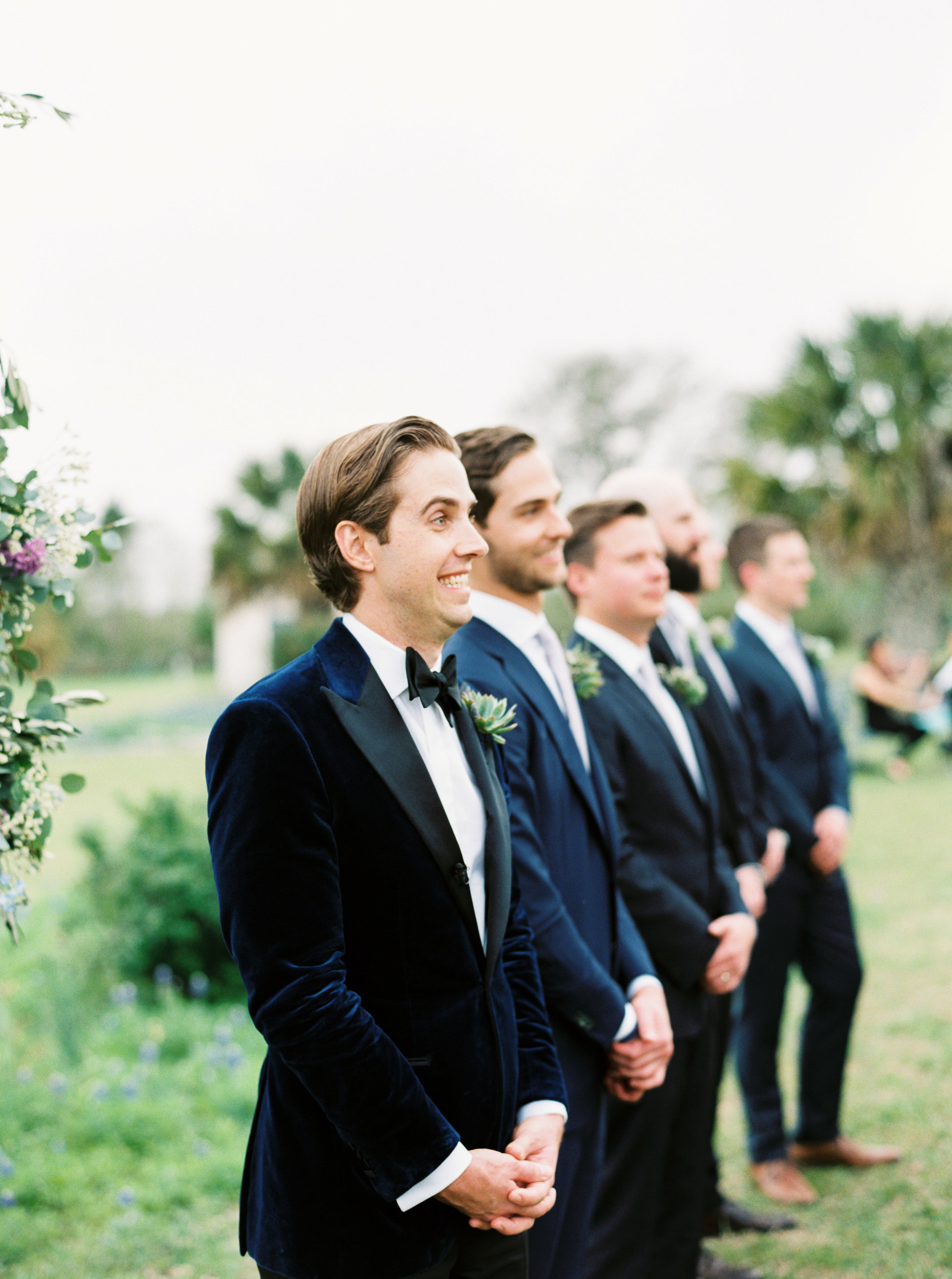 Favorite Moment: - There is no contest here. I love when the groom sees the bride for the first time. Whether it's a first look or walking down the aisle, it's always pure magic.