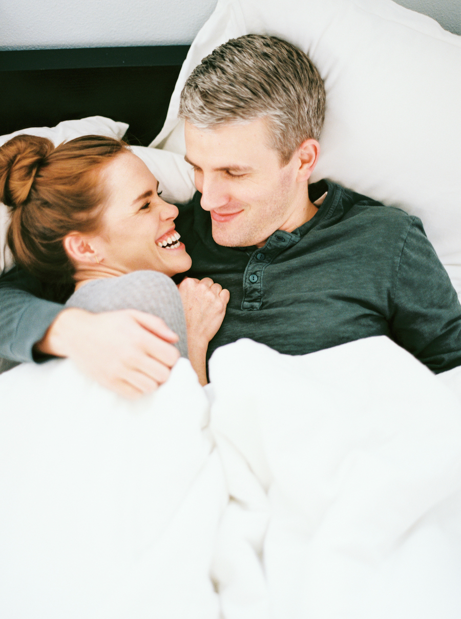 Austin In-Home Couple Session - Jessica Scott Photography
