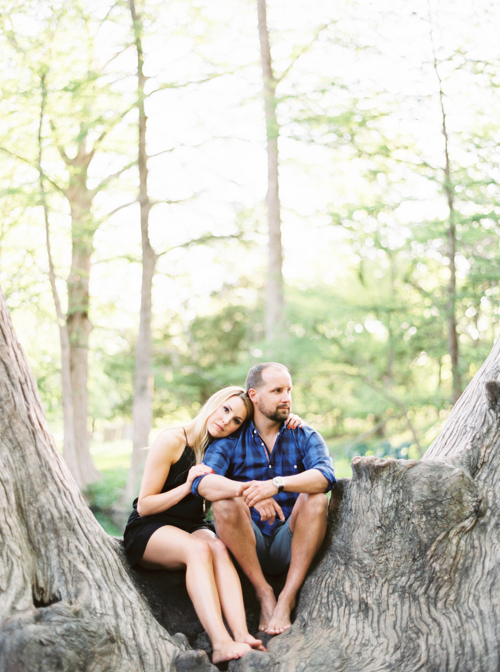 Blue Hole Engagement Session - Jessica Scott Photography
