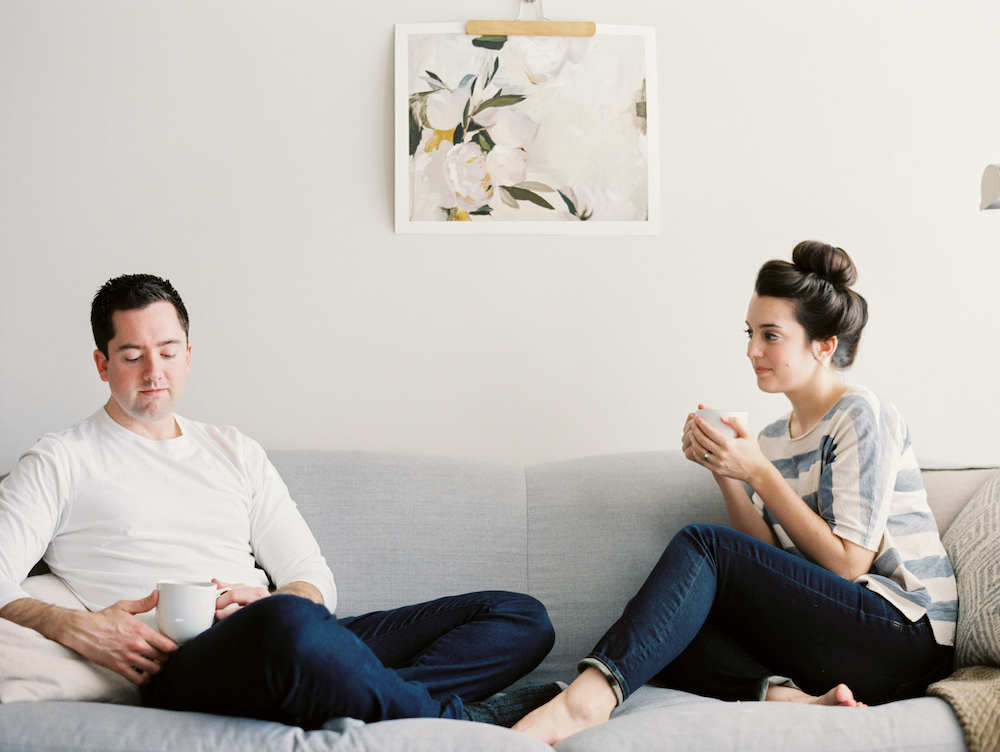 Intimate In-Home Session - Jessica Scott Photography