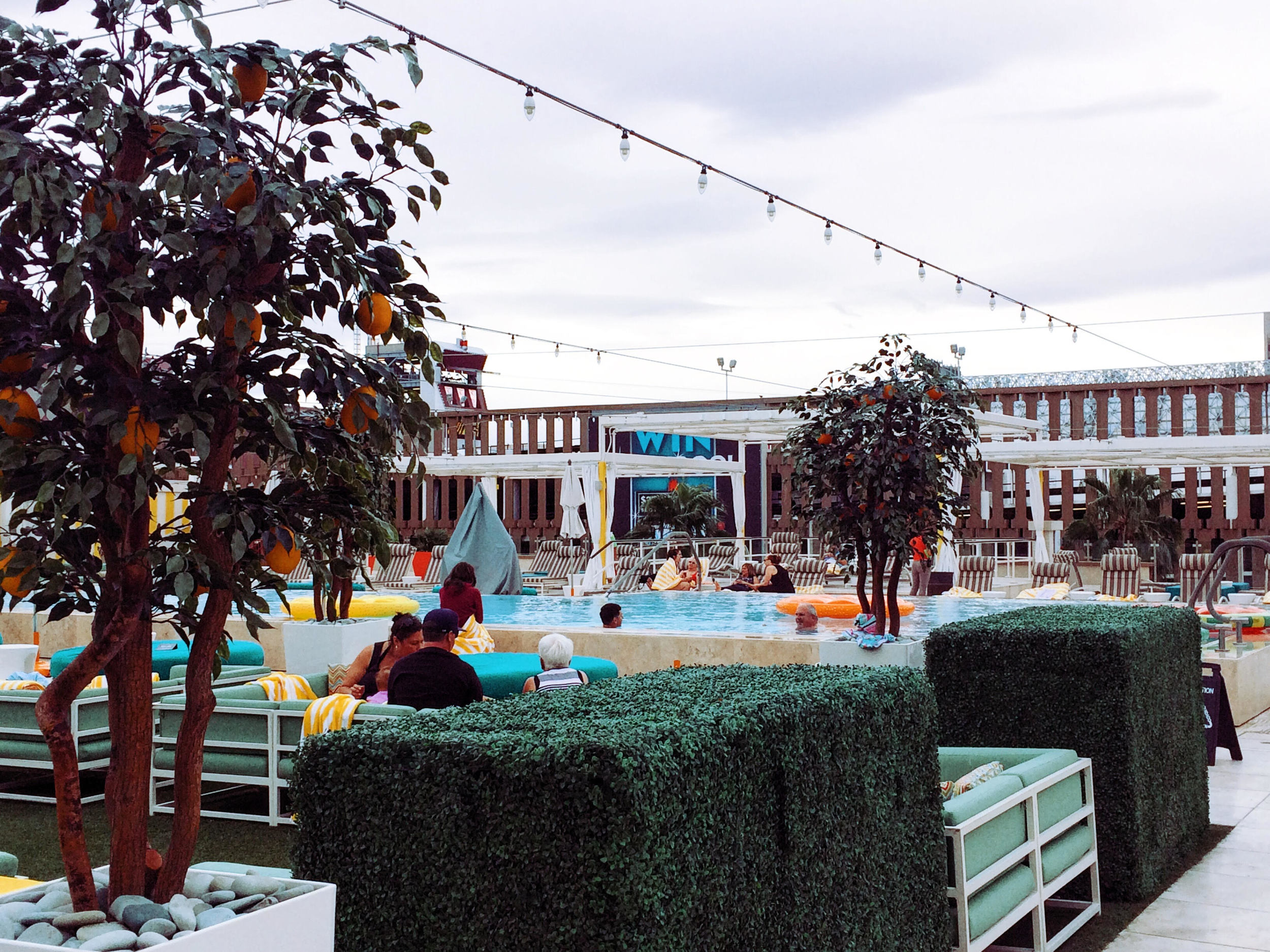 Downtown Grand's Rooftop Patio & Pool