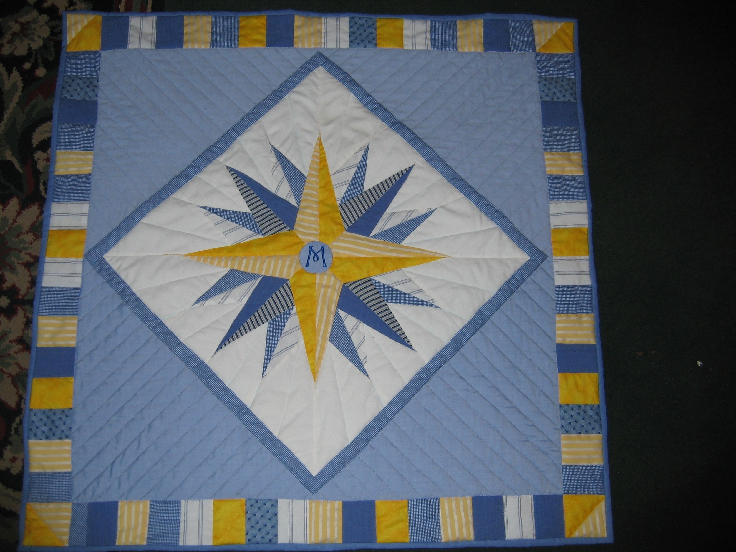 Quilt- Max's quilt made from men's shirts.jpg