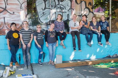 MFA Applied Craft + Design  Design/Build  2017   Voz  Worker's Justice Center on MLK, Portland, OR