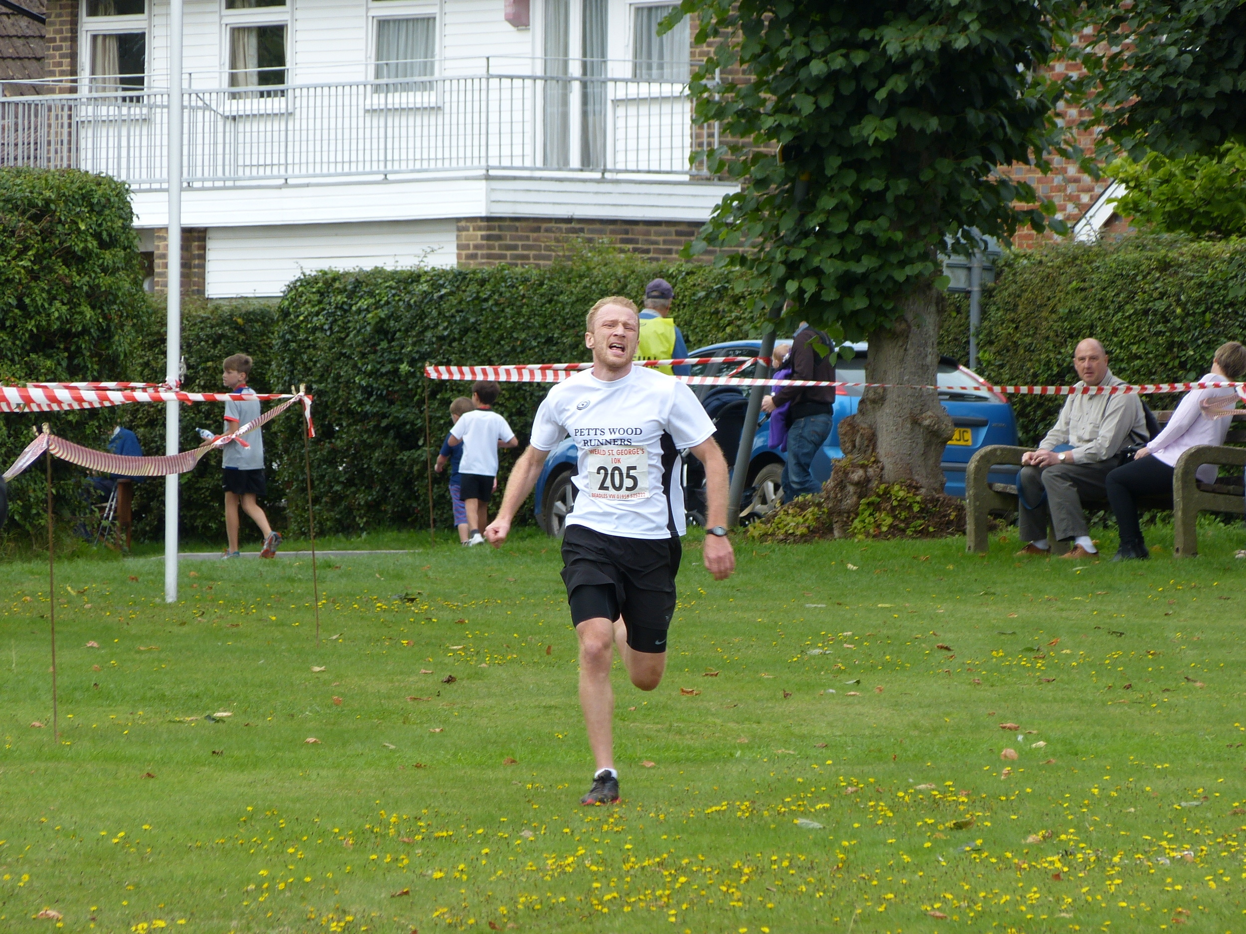 Mens 2nd place David Young 00:36:55