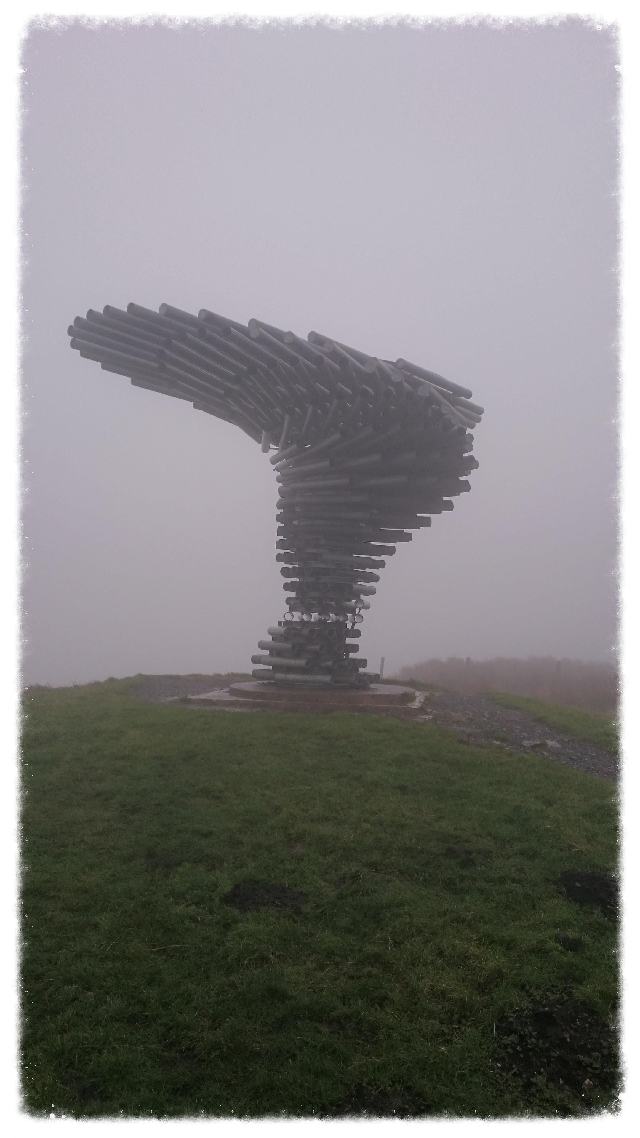 The Burnley Singing Ringing Tree  (on a very cold December morning)