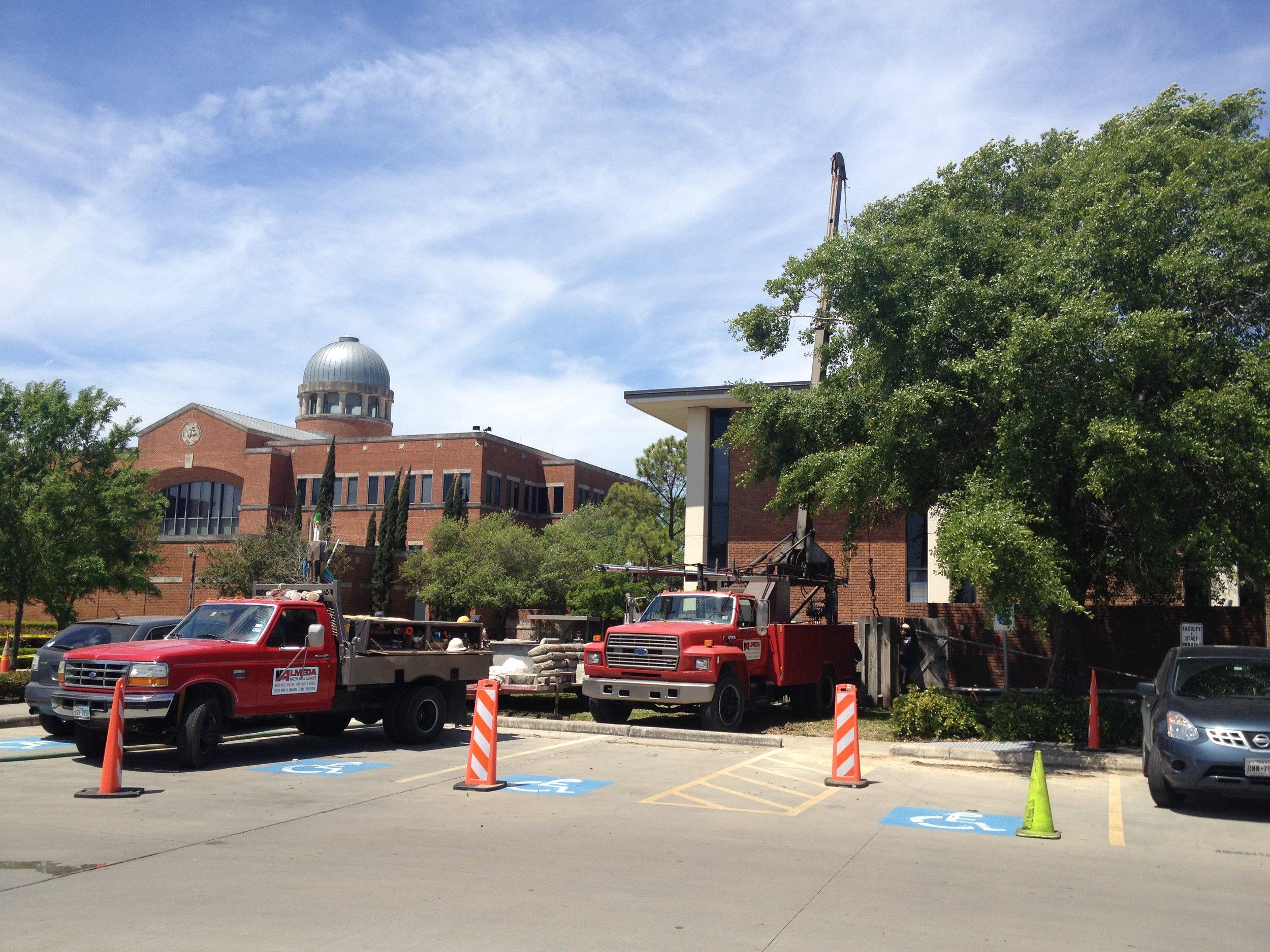 Pump installation - Houston Baptist University