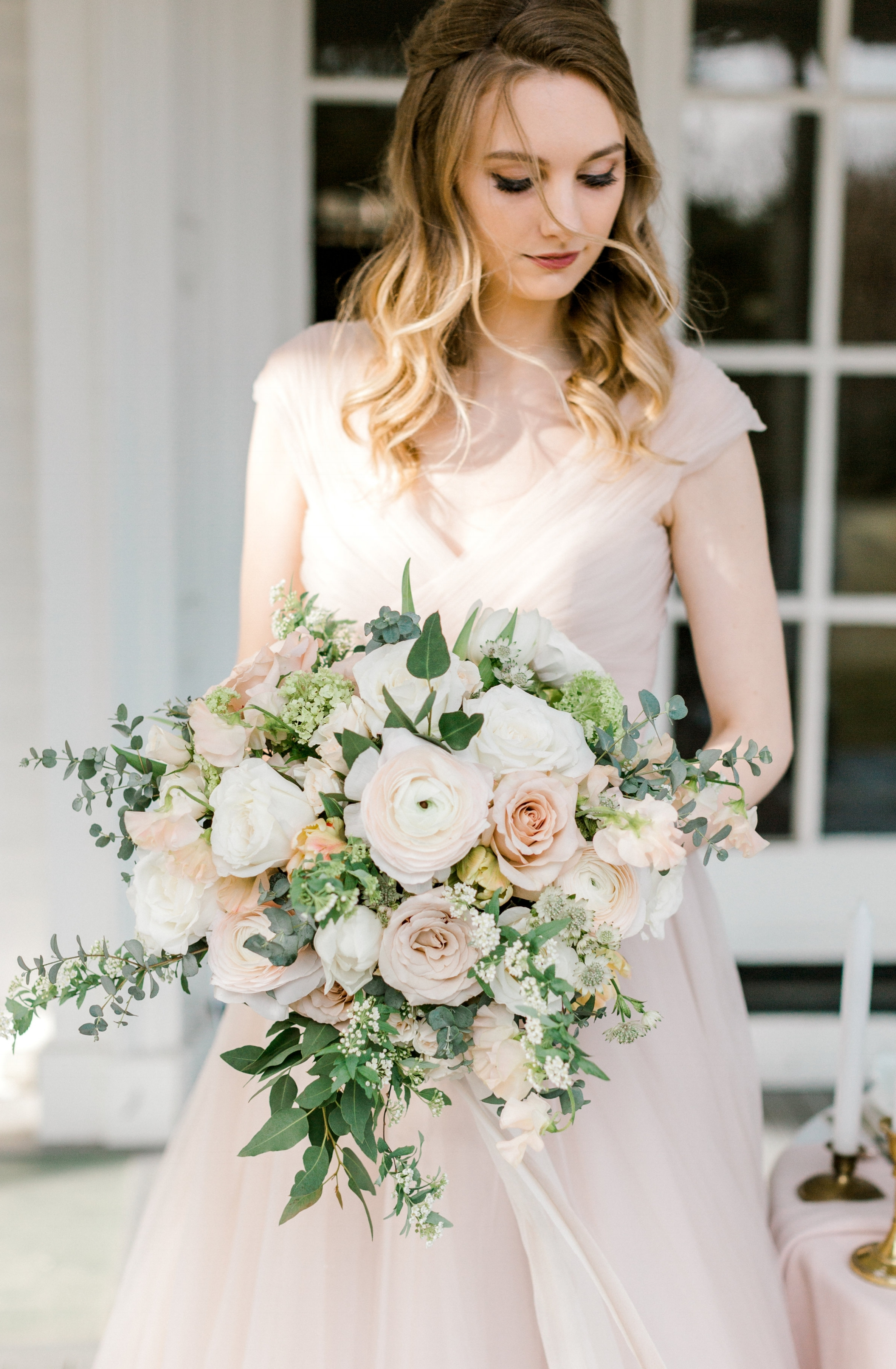 french inspired bride
