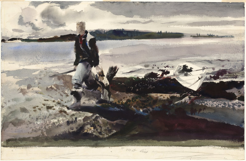 Andrew Wyeth, Coot Hunter, 1941