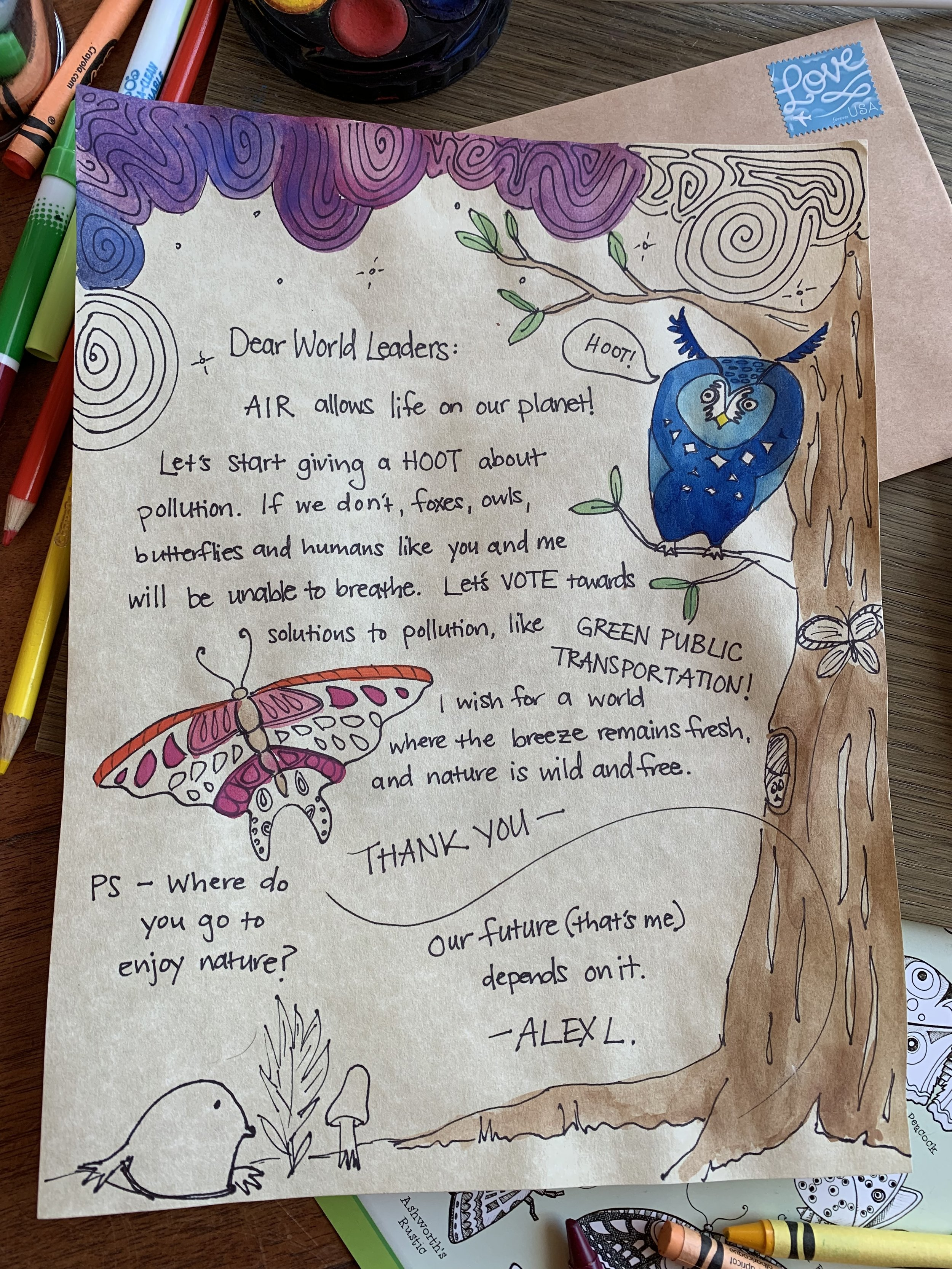 Love Letters to the Air