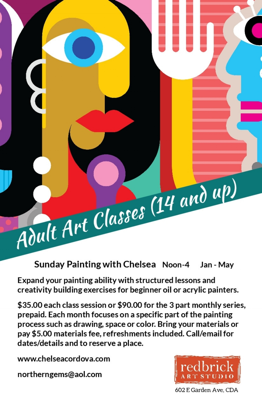 Sunday Painting with Chelsea