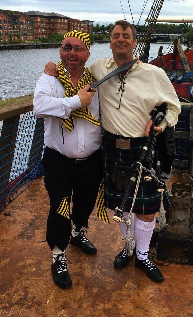 Cat's choice of best dressed: the brave Scottish sailor