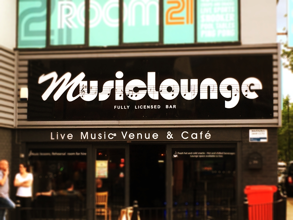 The Musiclounge was one of several venues promoting live music during the Stockton Pirate Festival. Being unfamiliar with most bands listed on the programme, it was only by some strange intuition that I decided to end my day there.