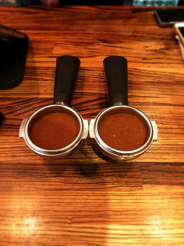 Brazilian and Ethiopian ground coffee beans (can you tell the difference?)