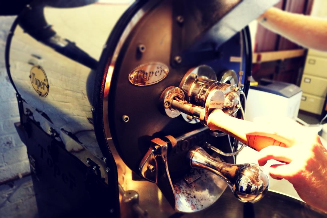 The Turkish coffee roaster