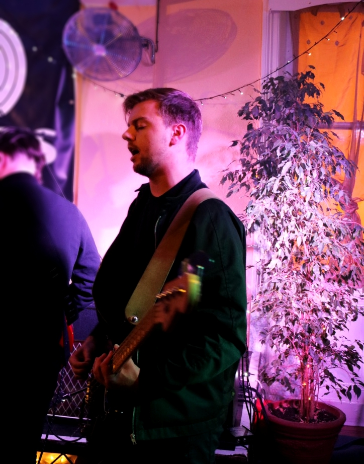 Carl performing during the Tracks Launch Party in Darlington