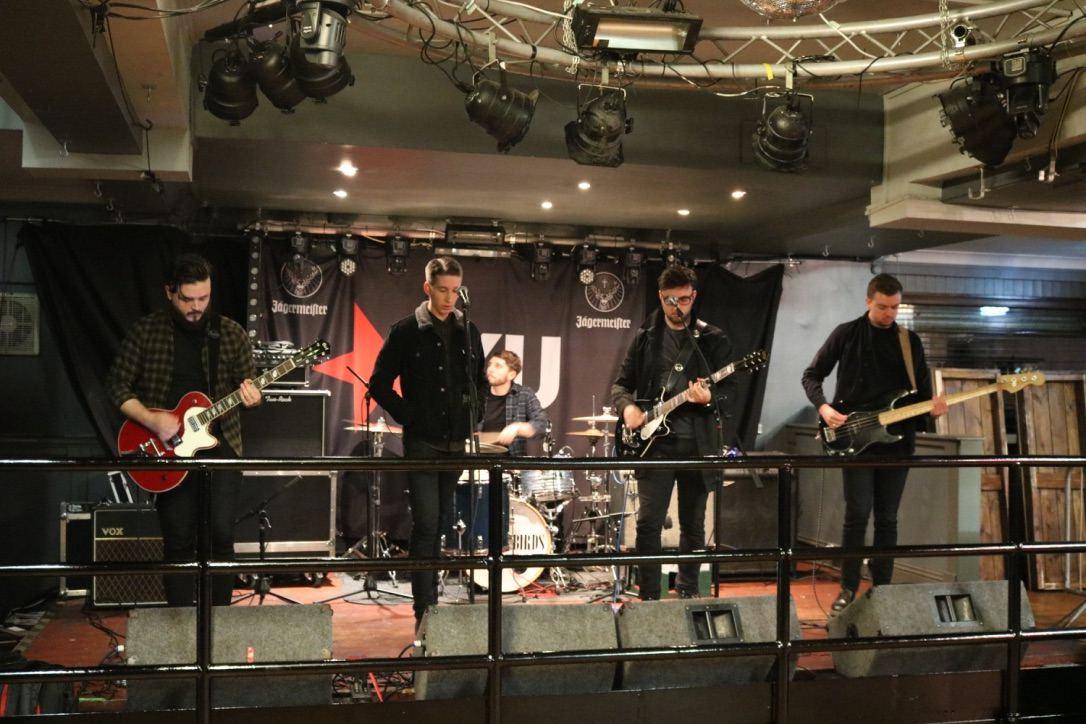 Soundcheck for The Hummingbirds gig on 26 November 2016