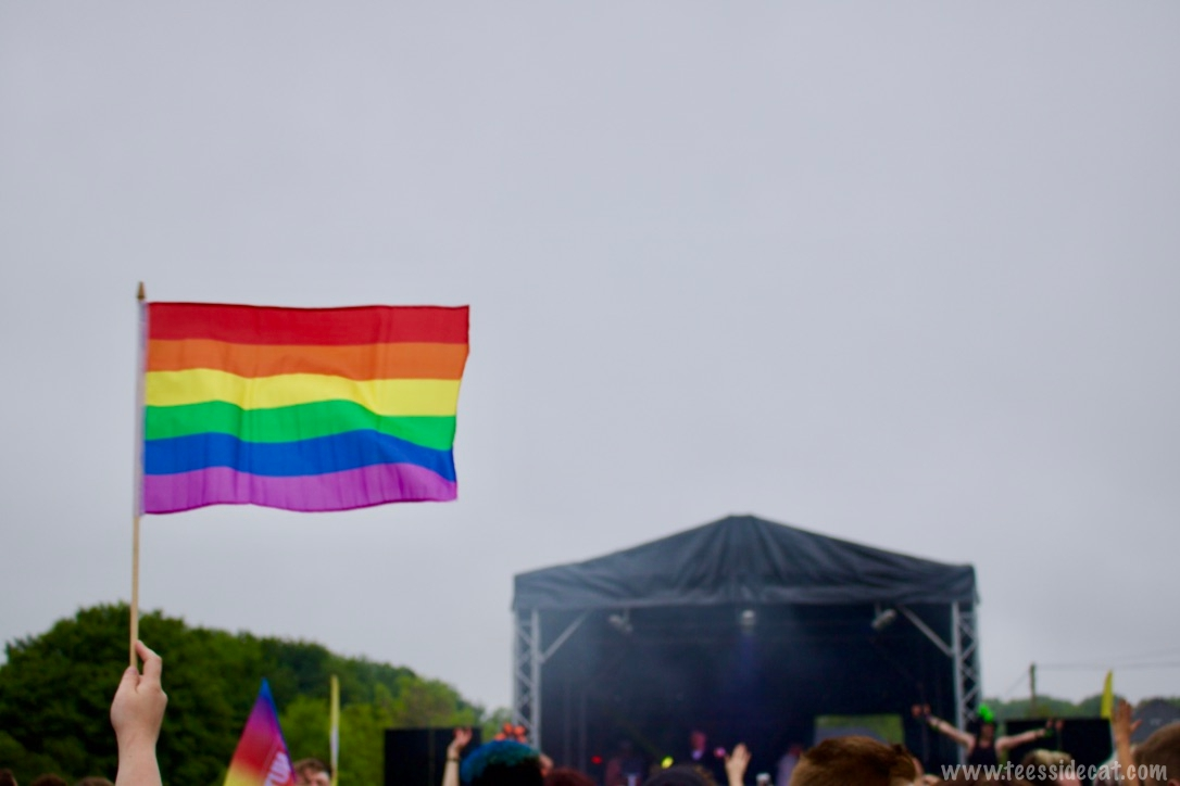 The rainbow flag was designed by American gay activist Gilbert Baker and has undergone several revisions since 1978