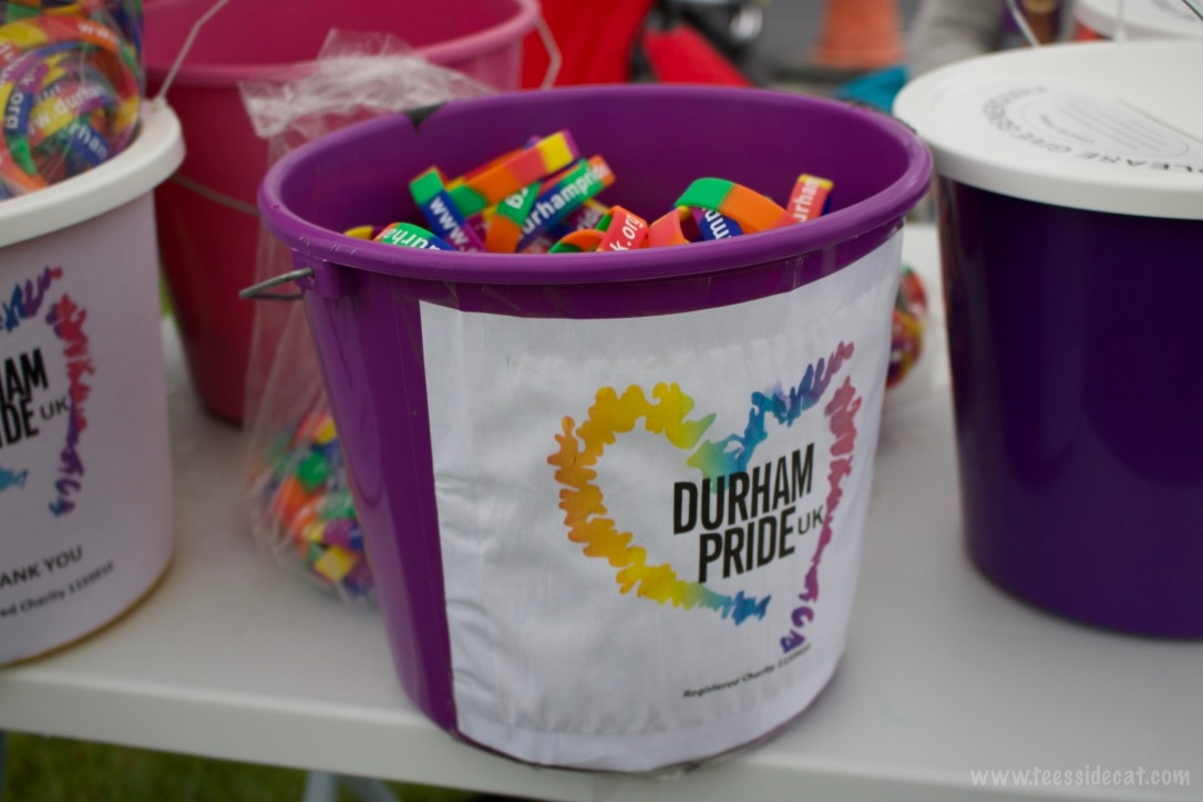 Donation and bracelet buckets