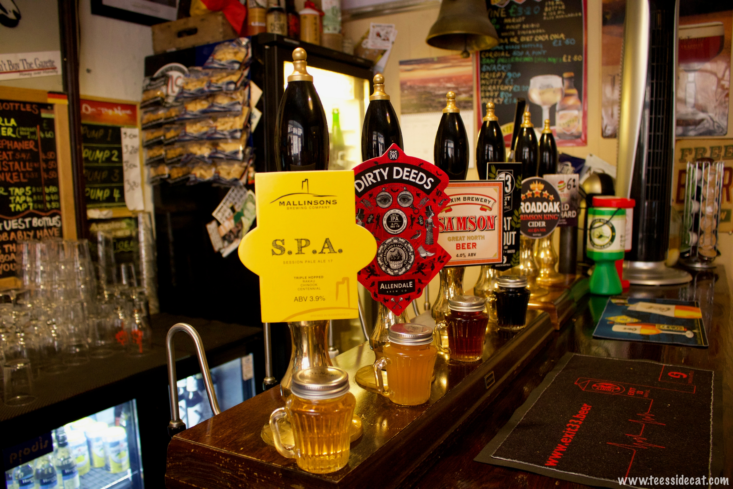 To find out which 'real ales' they're serving, check their Facebook page