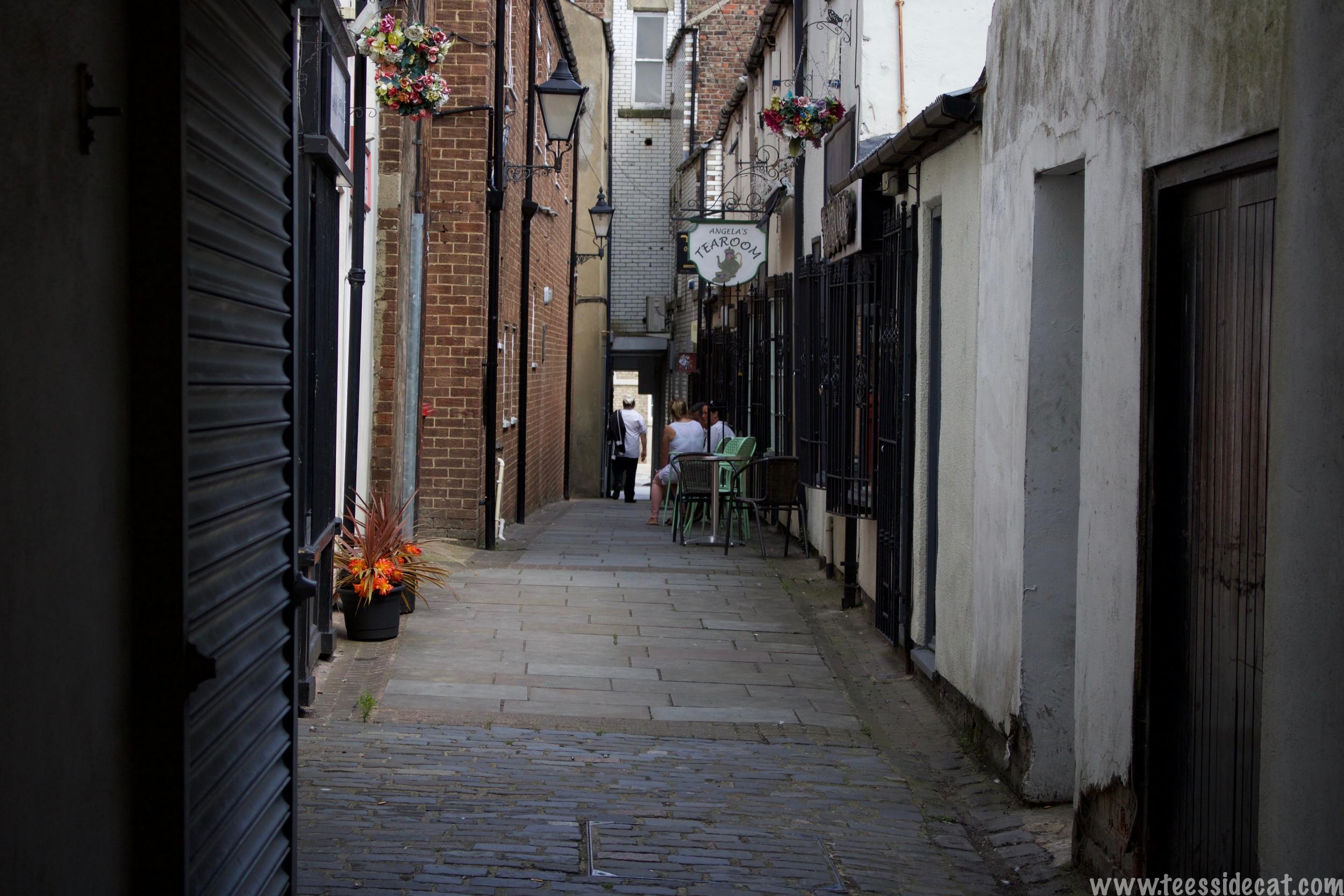 One of Stockton's best alleyways