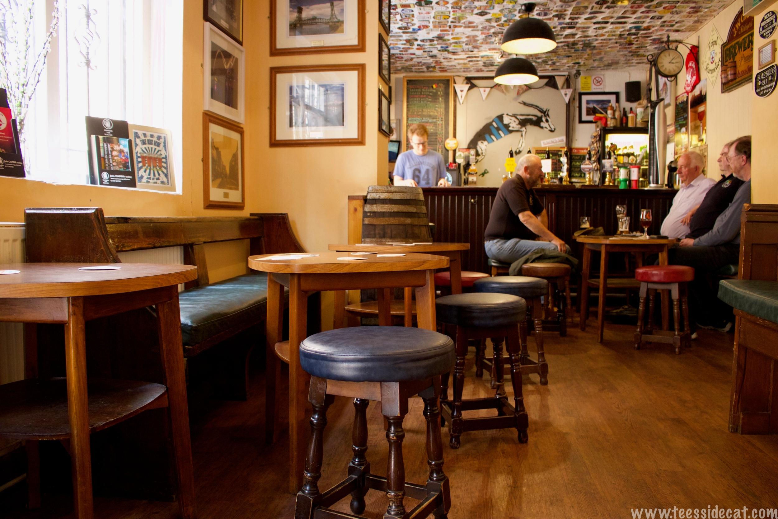 Peaceful pub afternoons